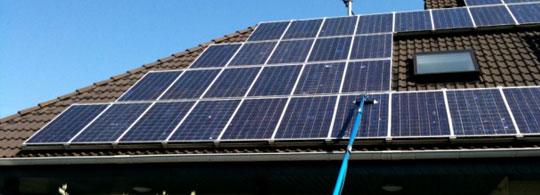 Servicii de curatenie panouri solare
